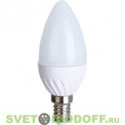 Лампа светодиодная Свеча Ecola Light candle LED 6,0W 220V E14 4000K свеча