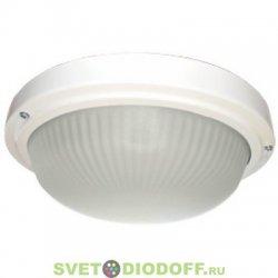 Настенно-потолочный светильник Ecola Light GX53 LED ДПП 03-18-103 круг накладной 3*GX53 матовое стекло IP65 белый 280х280х90