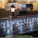 """Гирлянда светодиодная """"Бахрома"""" 2,5х0,6 м, белый свет, наружное использование, IP44"""