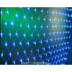 """Гирлянда светодиодная """"Сеть"""" 1,5х1,5 м, белый свет, наружное использование, IP44"""