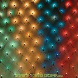 """Гирлянда светодиодная """"Сеть"""" 1,5х1,5 м, белый свет, наружное использование, IP44, TDM"""