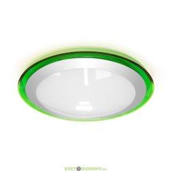 Накладной светодиодный светильник Marella ALR-16 AC170-265V 16W d330*H70мм Серый (Холодный белый) 1400lm