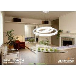 Управляемый светодиодный светильник GRAVITACIA 80W R-648-WHITE-220V-IP44