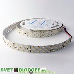 Светодиодная лента LUX 24 Вт/м DSG 2835 252Led 24V ip33 Нейтральный Белый (4000К)