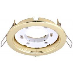 Светильник встраиваемый под лампу GX53 SD-9218-G метал, золото