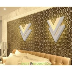 Настенное светодиодное бра DESIGN LED Victory 5W, 3000К теплый белый