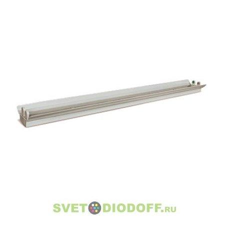 Светильник светодиодный SPO-101-R 2х18Вт 160-260В LED-Т8/G13 1200 мм двойной с рефлектором LLT