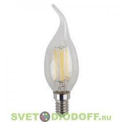 Лампа светодиодная ФиламенЭРА F-LED BXS-5w-827-E14