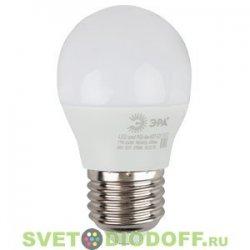 Лампа светодиодная ЭРА LED smd Р45-6w-840-E27 ECO 4000К