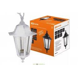 Светильник садово-парковый НСУ 06-60-001 шестигранник, подвес, пластик, белый TDM