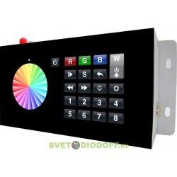 Контроллер RGB DMX SR-2816WI Black (12V, WiFi, 8 зон)