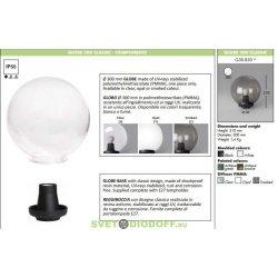 Венчающий светильник GLOBE 300 Classic прозрачный
