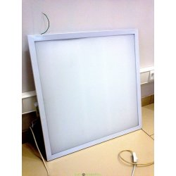 Светильник светодиодный опаловое стекло ДВО 6561-25-О eco 36Вт 4500К 595×595х25мм опал IEK