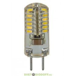 Лампа светодиодная LED-JCD-STANDARD 2ВТ 160-260В GY6,35 3000К 150ЛМ