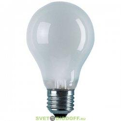 Лампа накаливания 60Вт, Е27, матовая