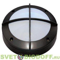 Влагозащищенный светильник Ecola GX53 LED B4143S светильник накладной IP65 с решеткой алюминиевый 1*GX53 Черный