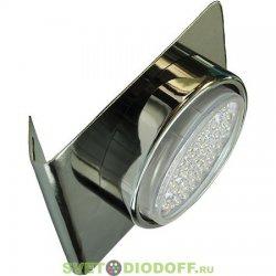 Светильник настенный угловой черный Ecola GX53-N82 52*130*111