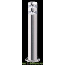 Светильник светодиодный столб 6500К, 144Лм, серебристый