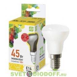 Лампа светодиодная LED-R39-standard 5Вт 230В Е14 3000К 450Лм ASD