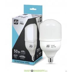 Светодиодная лампа СД LED-HP-PRO 50ВТ 230В Е27 4000К 4500ЛМ ASD