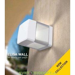 Светильник настенный светодиодный Fumagalli 10Вт, ELISA WALL (165х126мм) серый