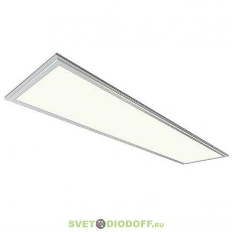 Ультратонкая светодиодная панель SPL 6-36-6K (S) ЭРА Светод. панель IP40 295x1195x8 36Вт 3000Лм 6500K серебро