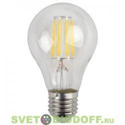 Лампа светодиодная Filament ЭРА F-LED A60-9w-840-E27