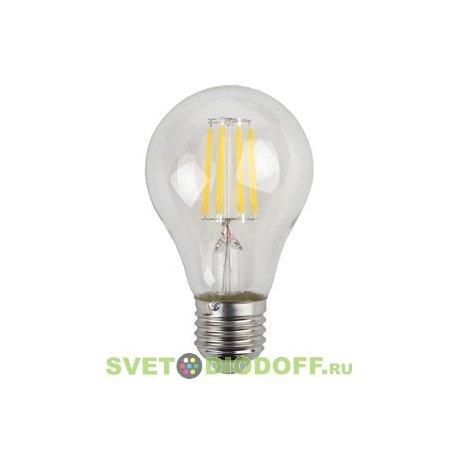 Лампа светодиодная Filament ЭРА F-LED A60-9w-827-E27