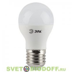 Лампа светодиодная ЭРА LED smd A60-11w-840-E27