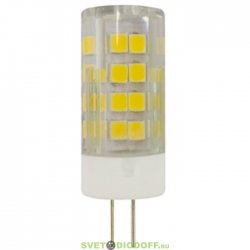Лампа светодиодная ЭРА LED smd JC-3,5w-220V-corn, ceramics-840-G4