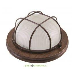 Светильник для деревянных строений НПБ1101 сосна круг 100Вт IP54 TDM