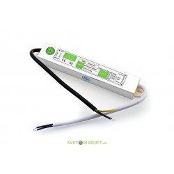 Блок питания для светодиодов TPW, 20W влагозащитный, 12V