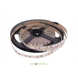 Лента светодиодная стандарт SMD 2835, 120 LED/м, 12 Вт/м, 12В , IP20, Цвет: Теплый белый