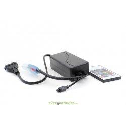 Контроллер RGB для ленты 220В (16 функций 5050 RGB 40cm провод)