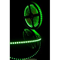 Лента светодиодная стандарт SMD 3528, 120 LED/м, 9,6 Вт/м, 12В , IP20, Зеленый