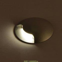 Настенный светодиодный светильник Белый 1Вт 3000 20 GW-812-1-1-WH-WW