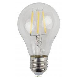 Лампа светодиодная ШАР прозрачная ЭРА F-LED А60-5w-840-E27 4000К