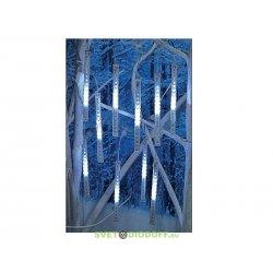"""Гирлянда """"Сосульки"""", падающий белый свет, 30 см, 8 шт в комплекте, 3,8 м"""