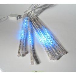 """Гирлянда """"Сосульки"""", падающий голубой свет, 30 см, 8 шт в комплекте, 3,8 м"""