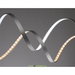 Гибкий алюминиевый профиль для светодиодной ленты 2000х18х5,7