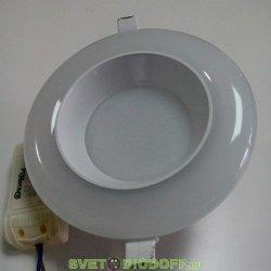 Светильник светодиодный встраиваемый двойной засветки DW-DL12NW 12W, 900Lm, 4200K