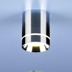 Накладной точечный светодиодный светильник DLR021 9W 4200K белый матовый/нейтральный свет