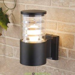 Настенный уличный светильник Е27 серый
