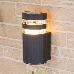 Настенный уличный светильник Е27 черный