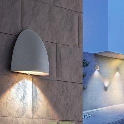 Настенный светодиодный светильник 3вт, 3300К LED Rongo алмазный серый