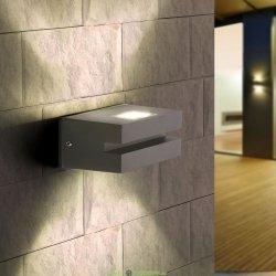 Настенный светодиодный светильник 6вт, 6500К LED Nerey алмазный серый