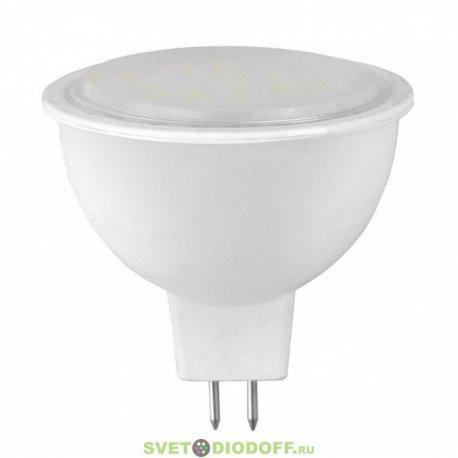 Лампа светодиодная LED-JCDR-STANDARD 5.5ВТ 160-260В GU5.3 3000К 420ЛМ