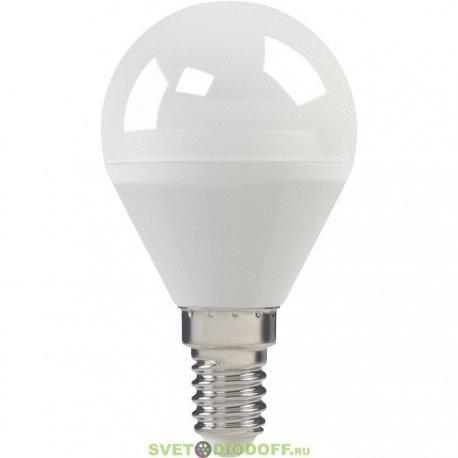 Лампа светодиодная LED-ШАР-STANDARD 5 ВТ 220В Е14 3000К 400ЛМ ASD