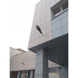 Светодиодный консольный светильник SPP-5-60-5K-W IP65 60Вт 6600лм 5000К 620x245x70 (КСС «Ш»)