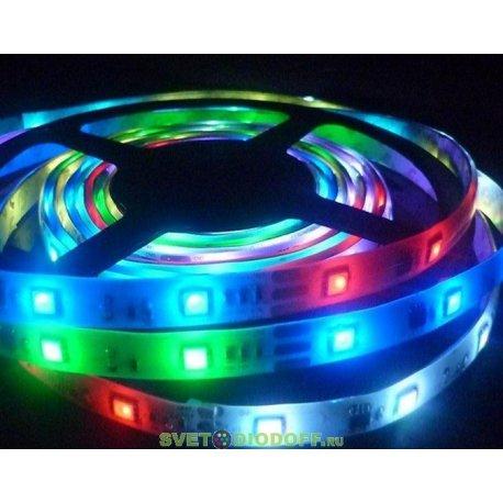 Лента светодиодная 5050/60 IP20 5м.п. RGB